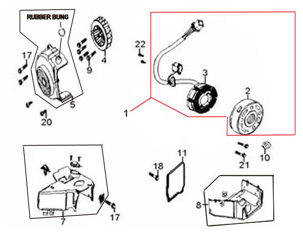 peace sports 150cc scooter wiring diagram  parts  wiring